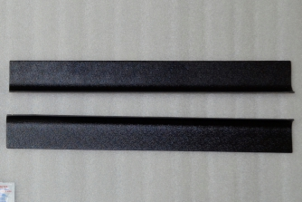 Накладки в проемы передних дверей «KART RS» (передние)  для Рено Сандеро / Степвей