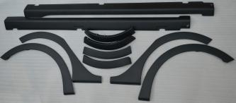 Комплект накладки на арки + накладки на пороги