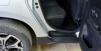 Накладки на пороги (передних и задних) дверей