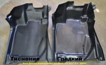 Пластиковый пол «КАРТ» для Рено Дастер дорестайлинг (до 2015 г.в.) водительский))