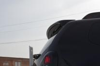 Накладка на спойлер №1 или №1L «КАРТ»  для Рено Дастер дорестайлинг до 2015 г.в.